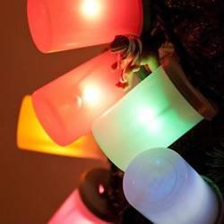 圣诞彩灯装饰DIY方法 春节彩灯灯笼制作图解