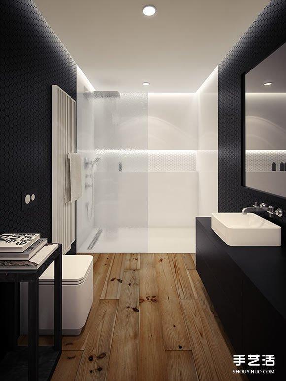 10個極簡主義衛浴空間 心中的夢幻浴室設計