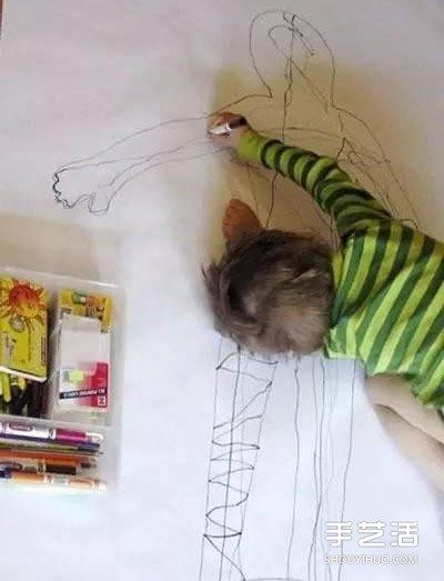 让绘画变成好玩游戏的12种方法 孩子都喜欢! -  www.shouyihuo.com