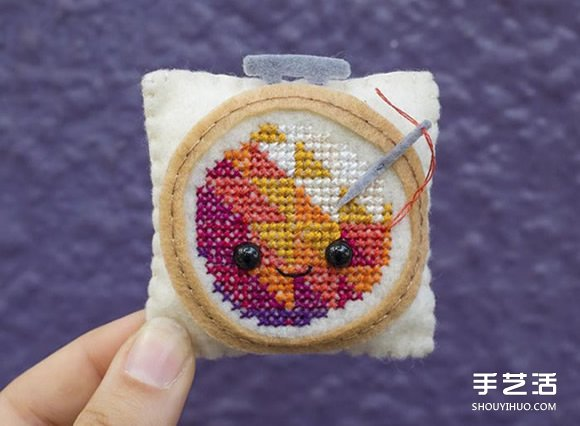 挑戰連續100天!藝術家縫製的可愛毛氈作品
