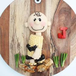爱是妈妈创作的动力 无限创意可爱美食摆盘DIY