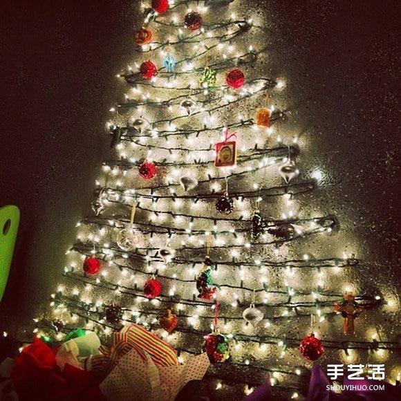 利用身边小物制作迷你圣诞树 环保又有温馨感