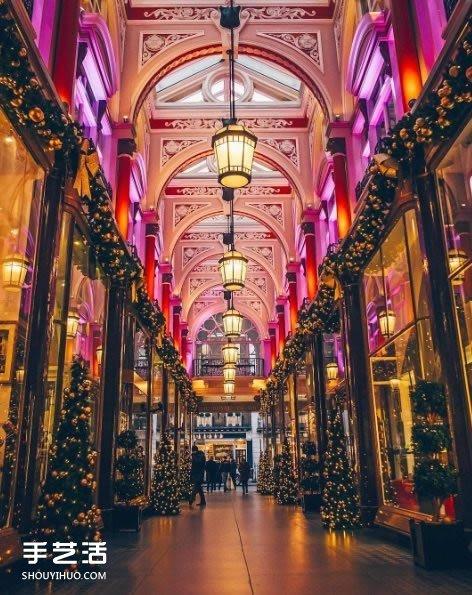圣诞期间的伦敦街道 宛如惊喜处处的奇幻国度 -  www.shouyihuo.com