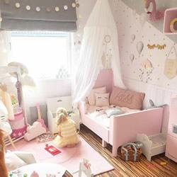 有了女儿,一定要为她打造这样的冰淇淋色房间