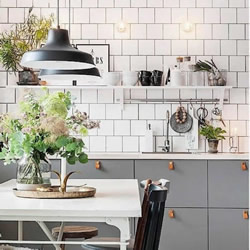 从此让你爱上烹饪:北欧简洁风格的厨房设计