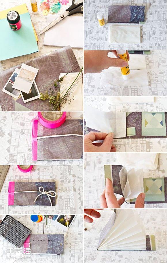 分隔收纳袋手工DIY制作 自制小玩意收纳袋方法 -  www.shouyihuo.com