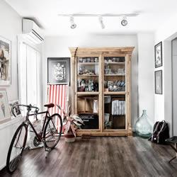知性点缀:伊斯坦堡40平米小公寓的空间设计