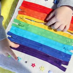 爱心妈妈的手工作品 专为宝宝制作的布艺玩具