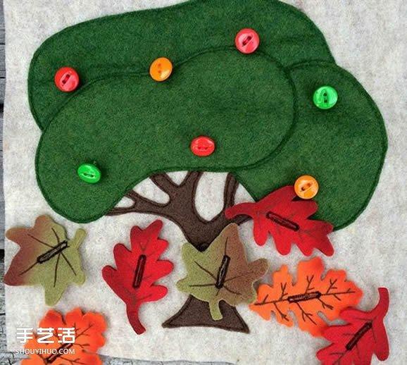 爱心妈妈的手工作品 专为宝宝制作的布艺玩具 -  www.shouyihuo.com