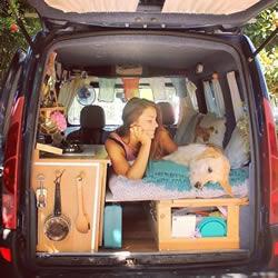 自由是独立女生最好的礼物 她改装车单身去旅行
