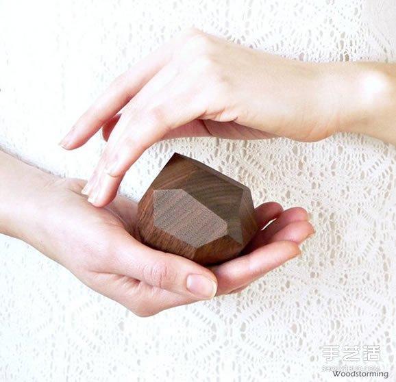 质朴温暖的木质收纳盒 专为珠宝打造的木器收纳 -  www.shouyihuo.com