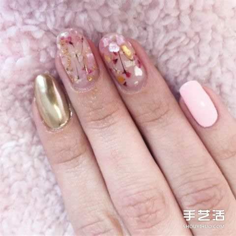 2017春季10种美甲灵感:告别秋冬沉闷色系
