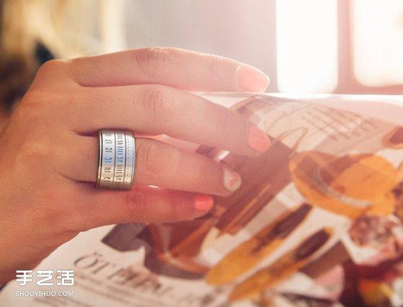 时光流动于指间!伪装成戒指的史上最小手表 -  www.shouyihuo.com