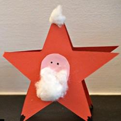 幼儿手工制作星星方法 简单卡纸星星的做