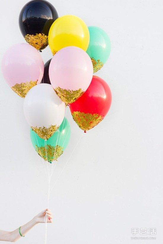 节日趣味气球DIY方法 创意气球手工制作图片 -  www.shouyihuo.com