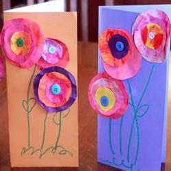 母亲节贺卡制作方法 幼儿园母亲节手工贺卡图片