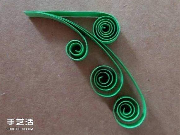 教师节贺卡制作方法图解 衍纸教师节贺卡图片 -  www.shouyihuo.com