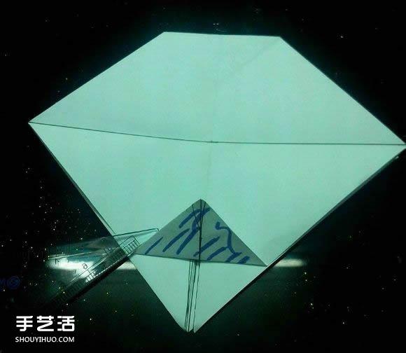 手工折纸漂亮盒子图解