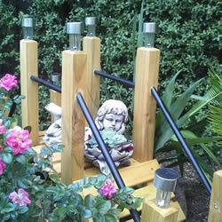 自制花园旱桥的教程 手工制作小桥的方法