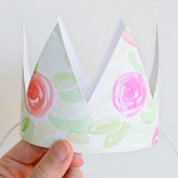 幼儿生日皇冠帽制作图解 生日皇冠的制作方法