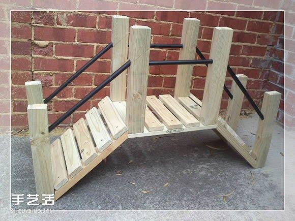 手工制作小桥的方法