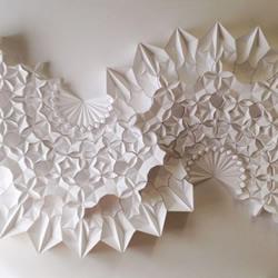 立体几何纸雕作品欣赏 挑战纸艺术的极限!