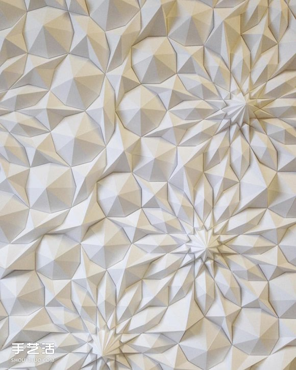 立體幾何紙雕作品欣賞 挑戰紙藝術的極限!