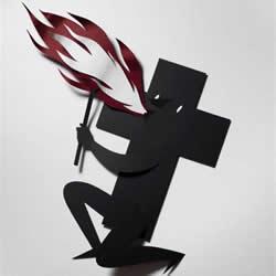 怪诞的剪纸艺术作品 创意手工剪纸图片欣赏
