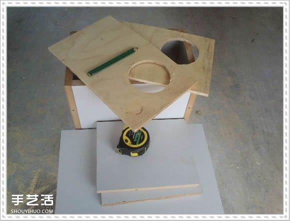 怎么自制猫爬架DIY教程 猫爬架制作方法步骤 -  www.shouyihuo.com