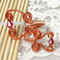 铜线戒指DIY图解教程 铜线制作戒指的方法