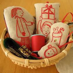 Yuki与生俱来的热爱 创作出的清新刺绣作品
