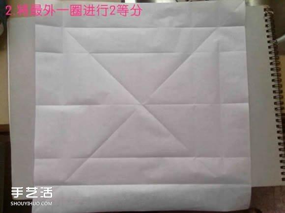 折纸白鹭的方法详细图解 立体白鹭的折法步骤