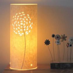 唯美手工纸皮灯制作 花鸟图案雕刻纸灯DIY