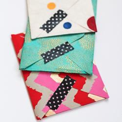 漂亮信封的折法图解 简单又好看信封手工制作