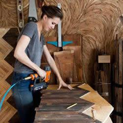 美女木匠Ariele的梦想之路 将爱好融入工作