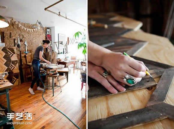 美女木匠Ariele的梦想之路 将爱好融入工作 -  www.shouyihuo.com
