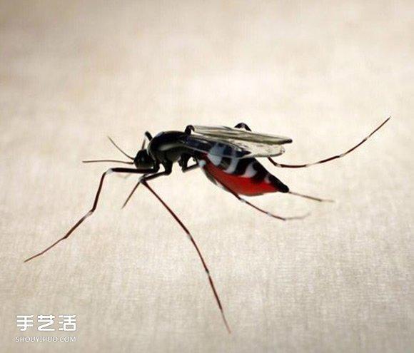 微小璀璨光泽!考验眼力与功力的玻璃昆虫雕塑 -  www.shouyihuo.com