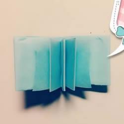 如何用一张纸折一本书详细图解教程
