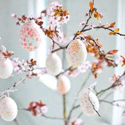 手绘鸡蛋装饰DIY图片 漂亮的彩蛋装饰品制作