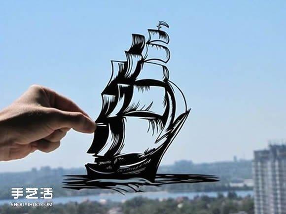 将生活融入手工的剪纸作品 简单而又真实~ -  www.shouyihuo.com