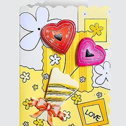 情人节贺卡怎么做图片 手工情人节卡片素材