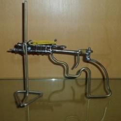 火柴枪的最简单做法 儿童玩具火柴枪手工制作