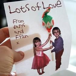 儿童情人节贺卡图片 简单儿童情人节贺卡DIY