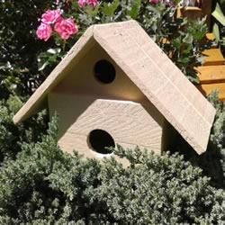 自制鸟窝怎么做DIY 手工木头鸟窝制作方法