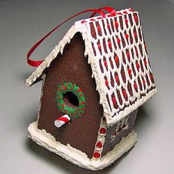 圣诞姜饼屋的做法图解 手工姜饼屋DIY制作方法