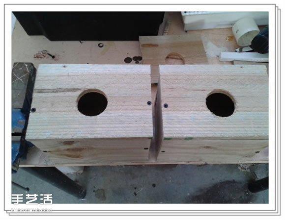 自制鸟窝怎么做DIY 手工木头鸟窝制作方法 -  www.shouyihuo.com