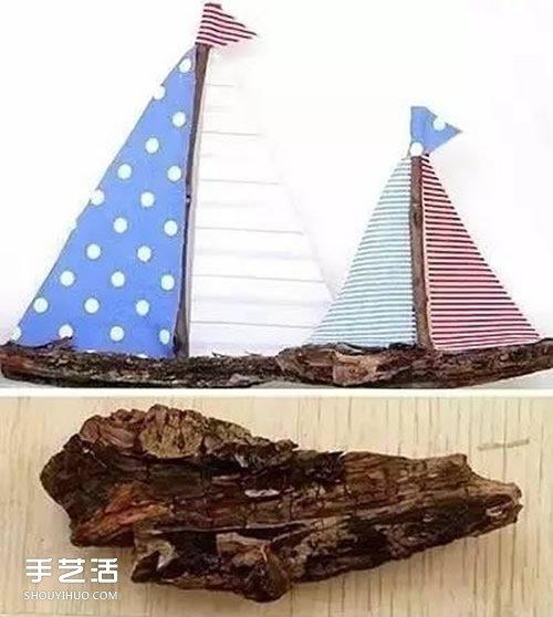三种手工小船的做法 废物利用做小船的教程