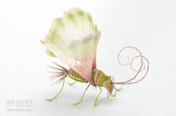 迷幻精灵昆虫雕塑作品 彷彿只在梦里会出现 -  www.shouyihuo.com