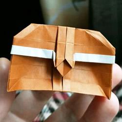怎么折纸宝箱的图解 手工宝箱的折法步骤