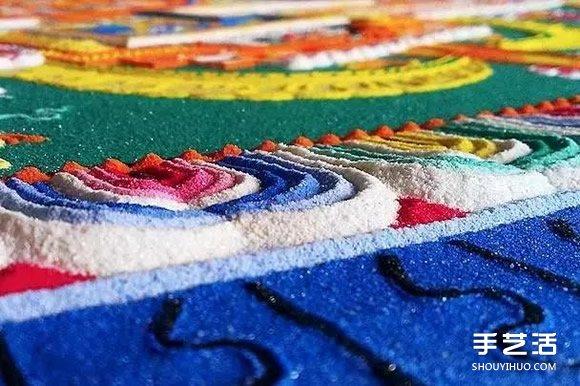 传世千年的坛城沙画 辛苦创作却注定被毁掉 -  www.shouyihuo.com